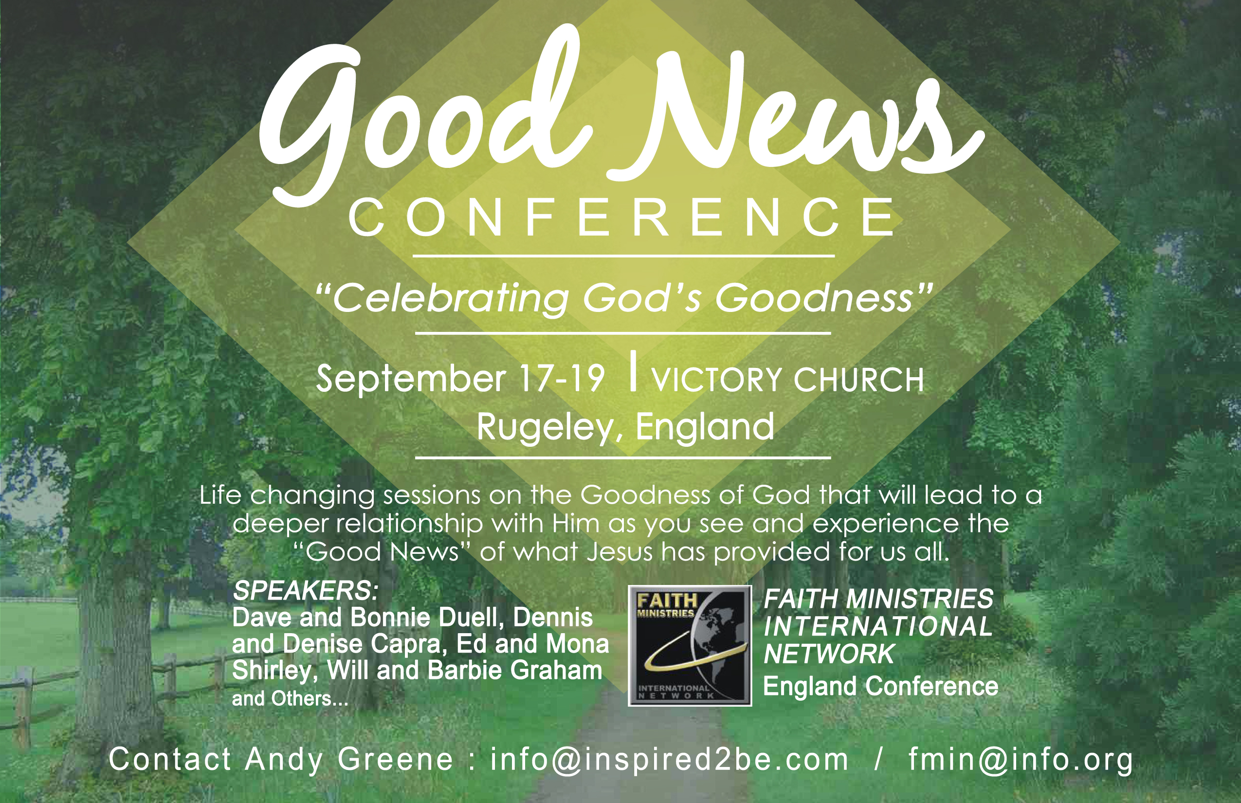 FMIN European Good News Conference: Celebrating God's Goodness