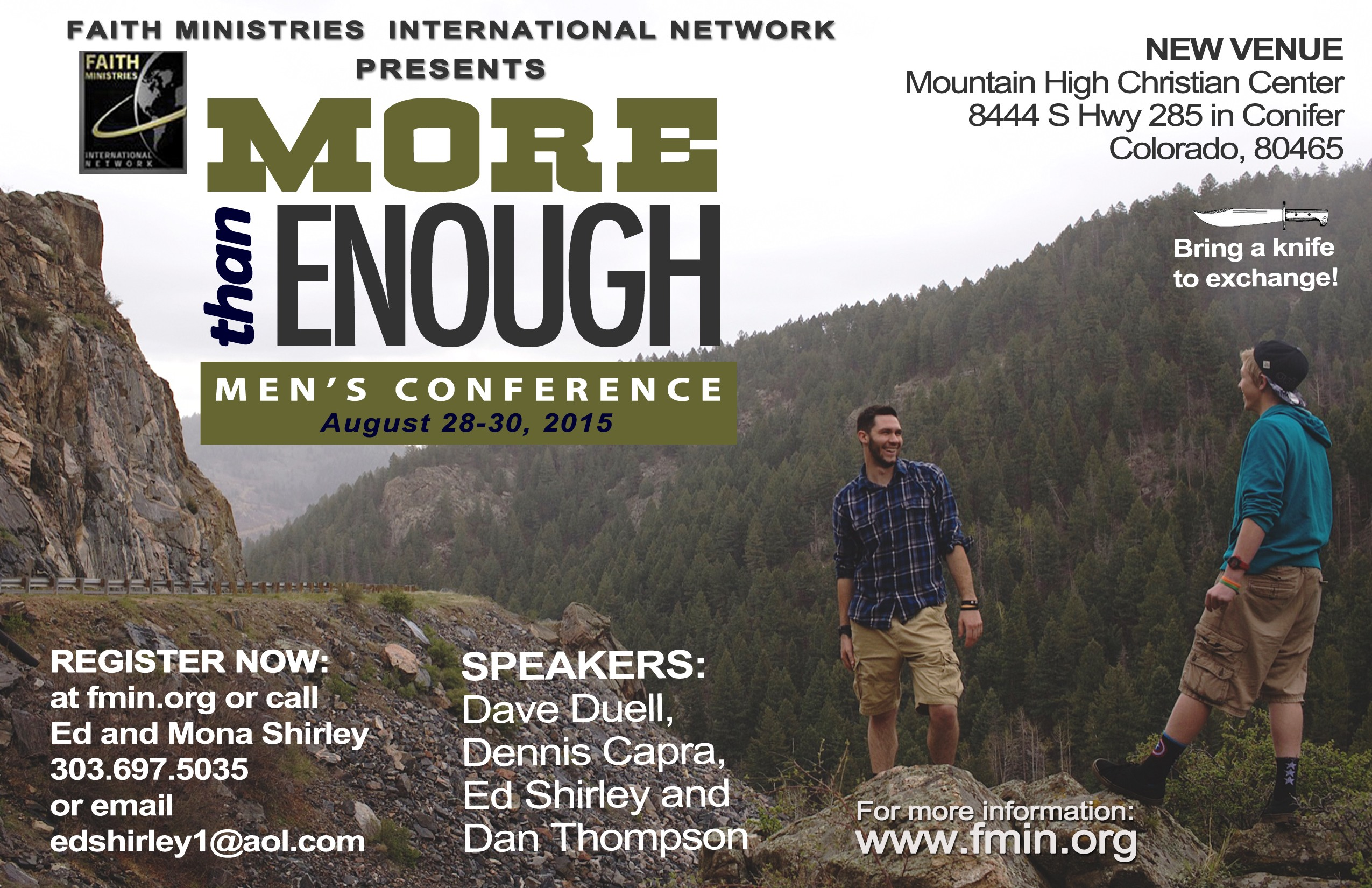 2015 FMIN More Than Enough Men's Conference