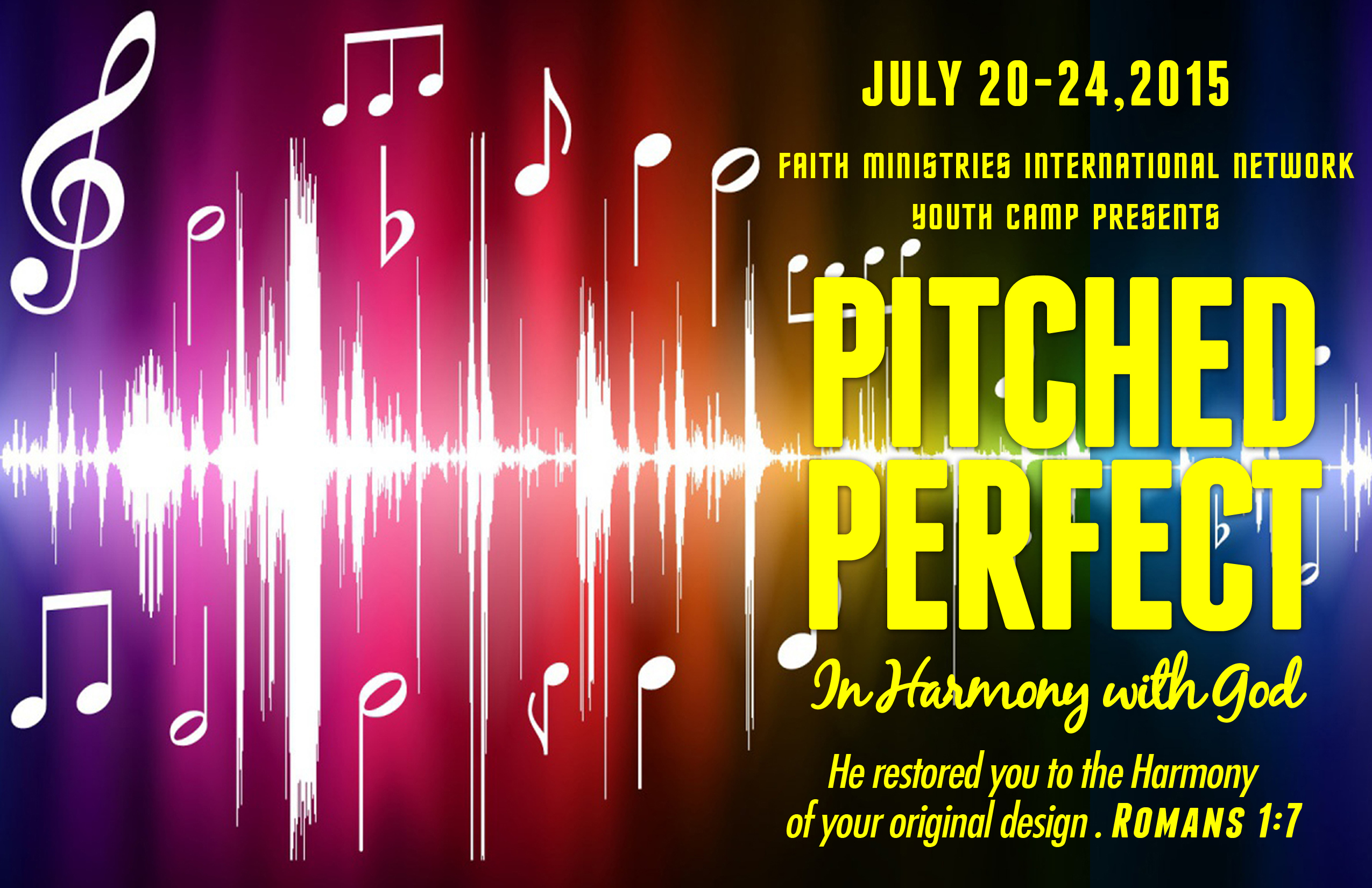 2015 Youth Camp - Pitched Perfect
