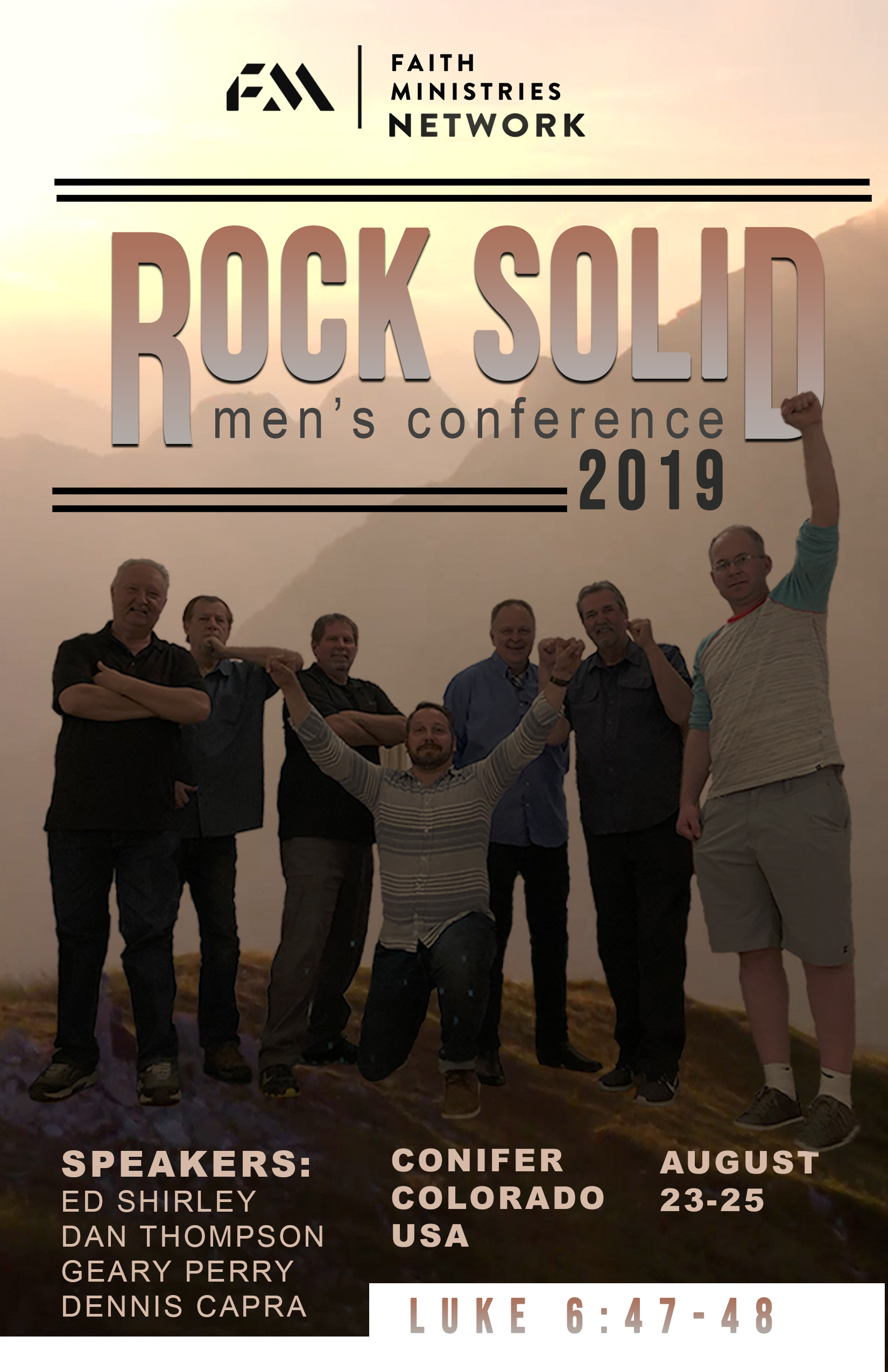2019 FM Mens Conference ROCK SOLID