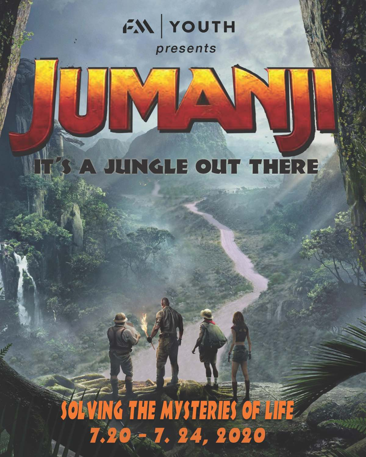 2020 Youth Camp - Jumanji -- It's a jungle out there.